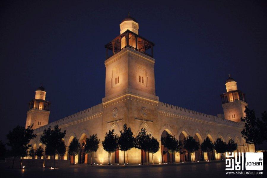Mosquée Al-Hussein Ben Talal. (© Visit Jordan))