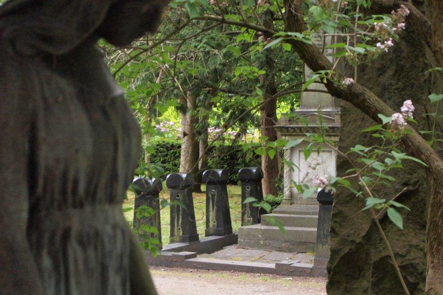 Le cimetière de l'assistance. (© ASSISTENS KIRKEGÅRD))