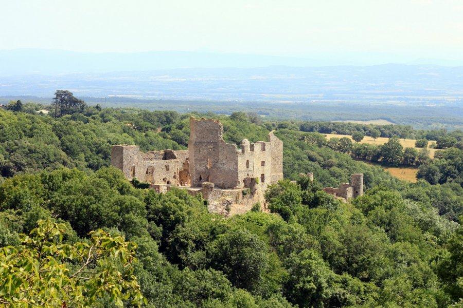 Le château de Saissac. (© Timbobaggins - Shutterstock.com))