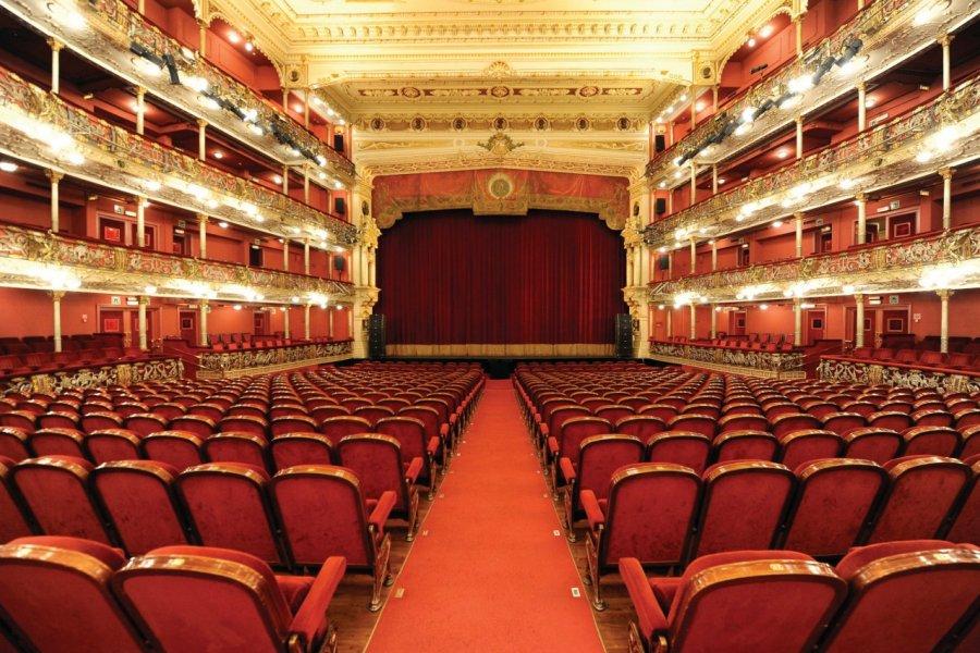 Teatro Arriaga. (© E. Moreno Esquibel / Teatro Arriaga))