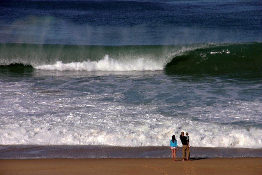 Les vagues de l'océan atlantique (© SERGE TARDIF - FOTOLIA))