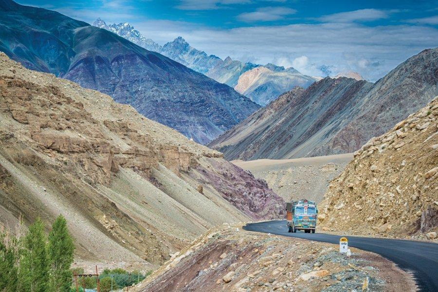 Sur la route de Srinagar à Leh. (© Guenter Guni))