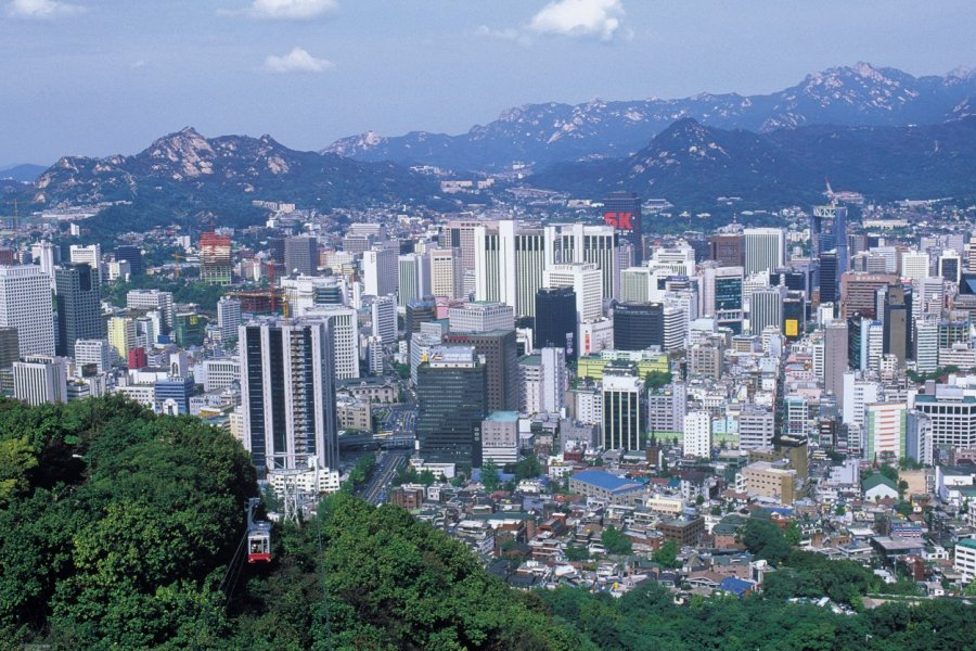 La ville depuis le mont Namsan. (© Thierry Lauzun - Iconotec))