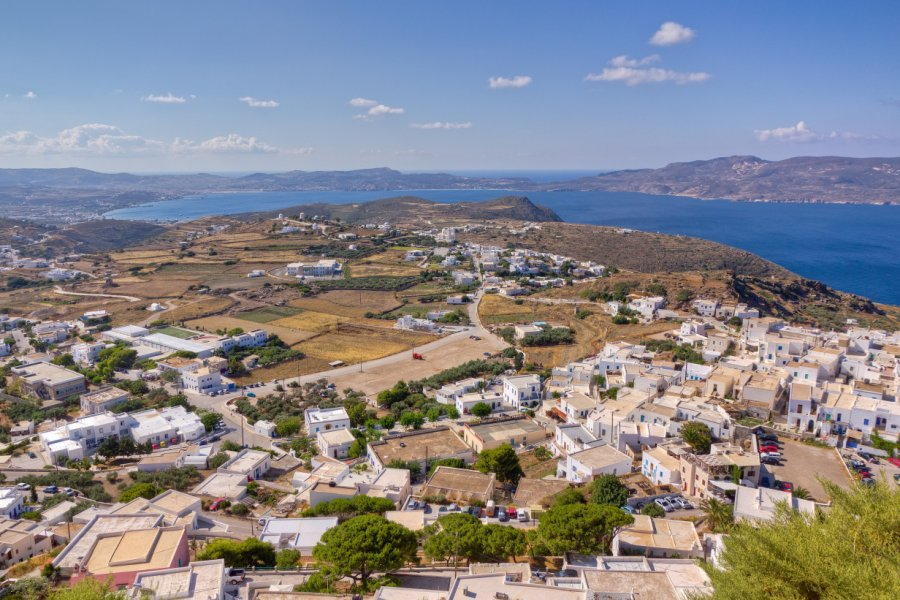 Vue sur Plaka et Trypiti depuis le kastro. (© Lefteris Papaulakis - Shutterstock.com))