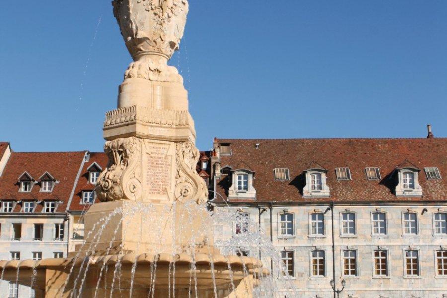 La fontaine de la place de la Révolution (© Laurent - iStockphoto.com))