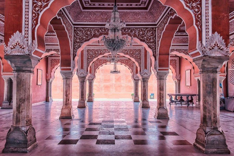 Intérieur du City Palace à Jaipur. (© manjik - Shutterstock.com))