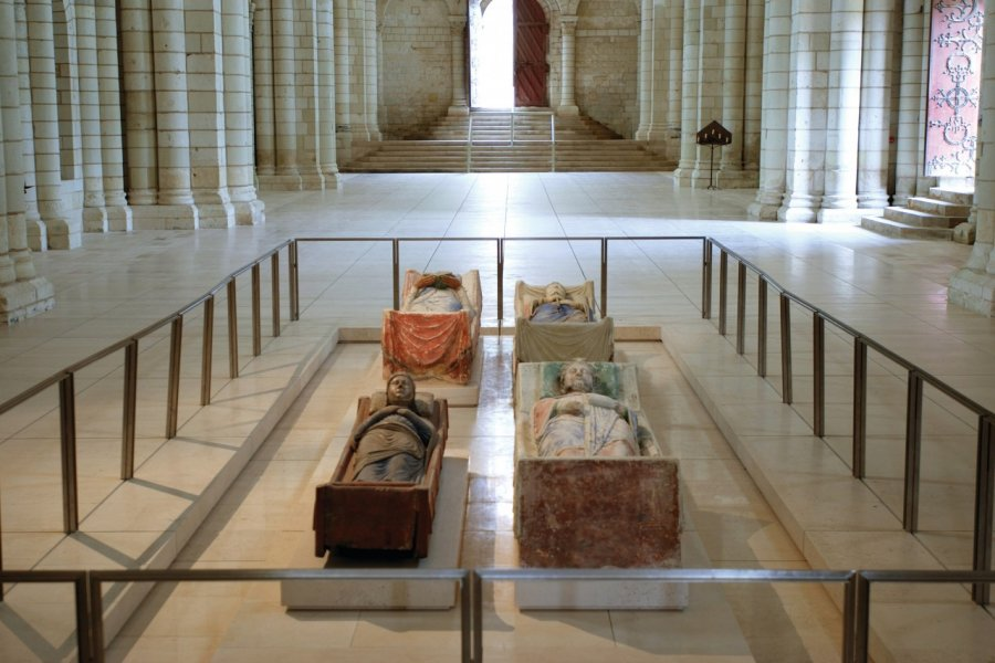 Gisants de l'Abbaye Royale de Fontevraud. (© Abbaye Royale de Fontevraud))