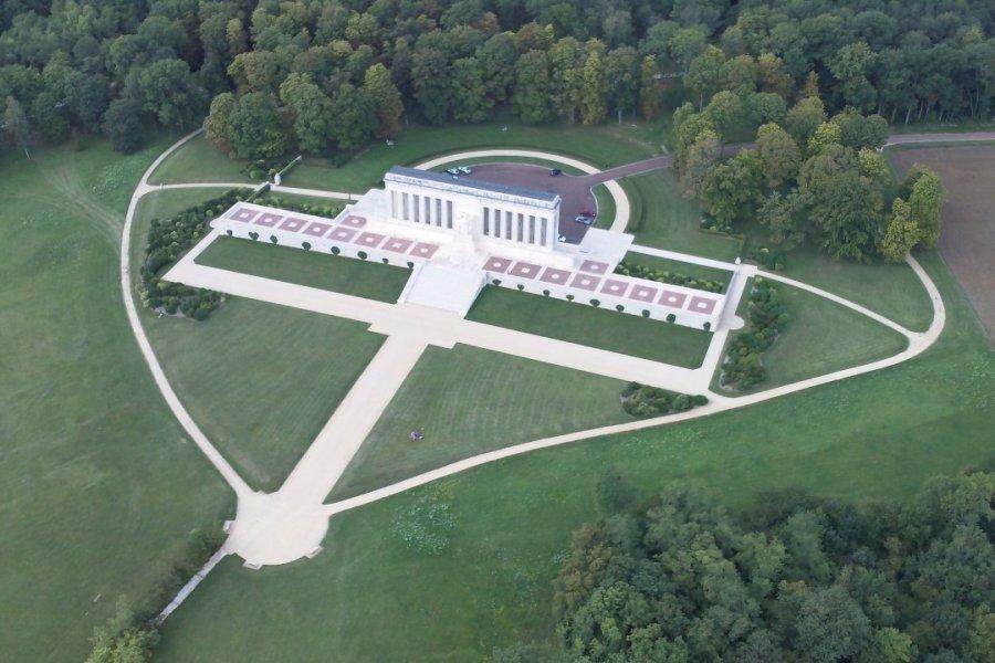 Le Mémorial américain d'Aisne-Marne (© American Battle Monuments Commission))