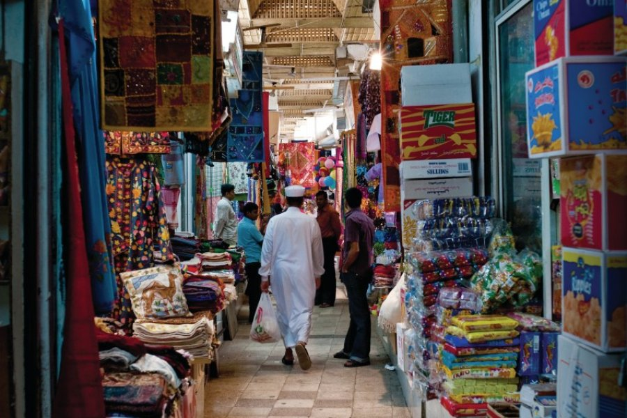 Souk de Mutrah. (© OT Oman))
