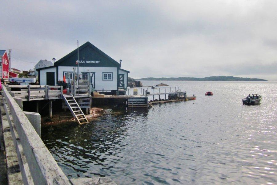 Harrington Harbour, le village qui a servi de cadre au film La Grande Séduction. (© Valérie FORTIER))
