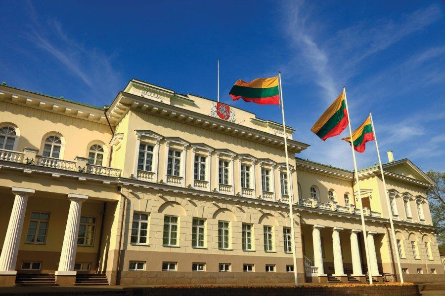 Palais présidentiel de Vilnius. (© agustavop))