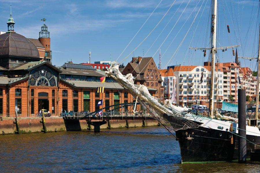 Les quais de Hambourg. (© CSPStock - Fotolia))