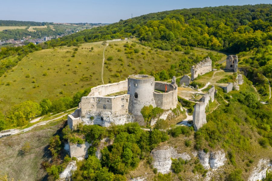 Le château Gaillard. (© SunFreez - Shutterstock.com))