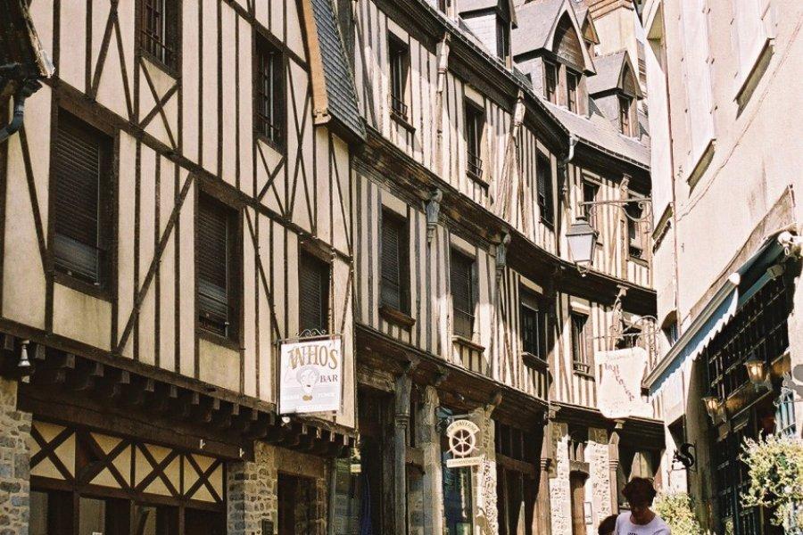 Maisons à pans de bois (© Office de Tourisme du Pays de Laval))