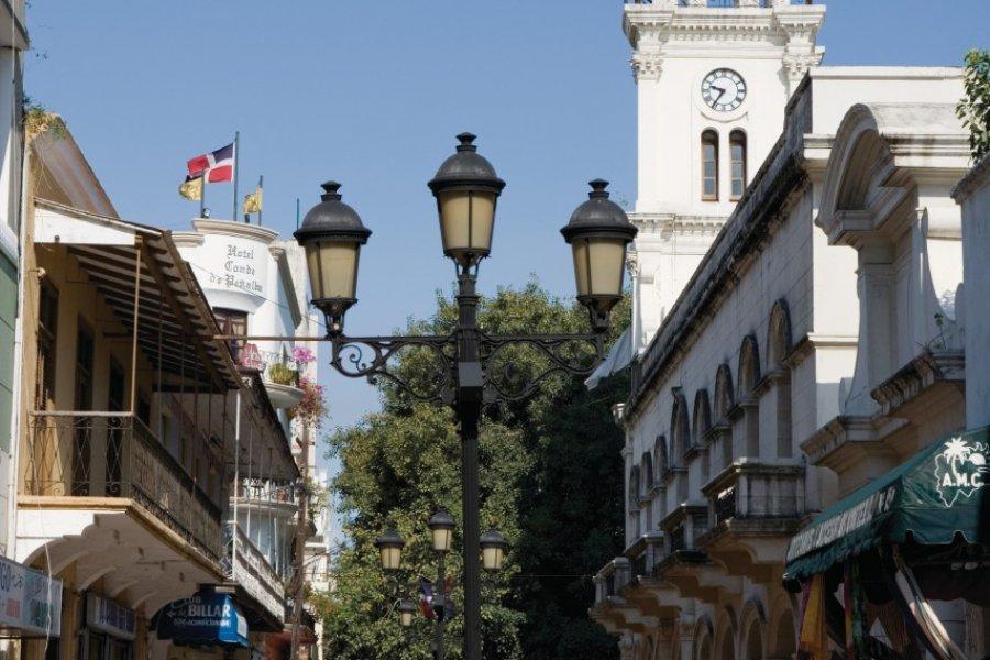 Rue piétonne El Conde dans la zone coloniale. (© Irène ALASTRUEY - Author's Image))