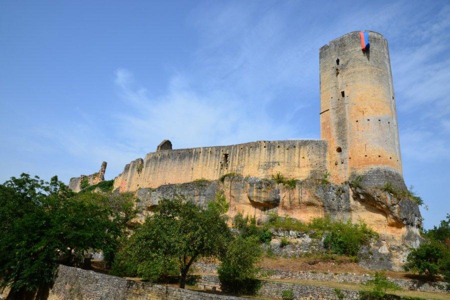 Le donjon du château de Gavaudun. (© CDT47))