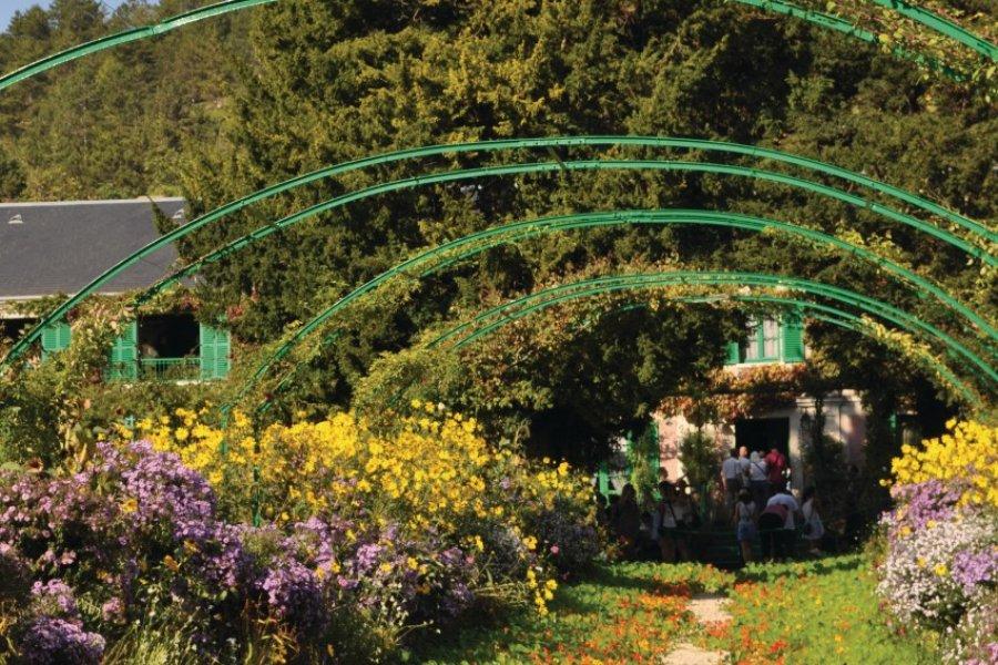 Le jardin et la maison Claude Monet à Giverny (© Ladybird - Fotolia))