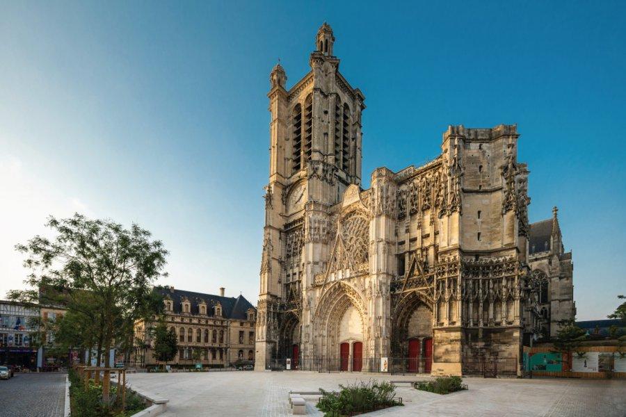 Cathédrale de Troyes. (© Olivier Gobert - Troyes La Champagne Tourisme))