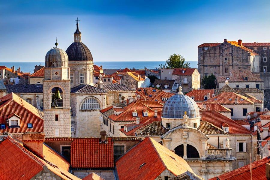 Panorama sur les toits de Dubrovnik. (© Ihor Pasternak - Shutterstock.com))