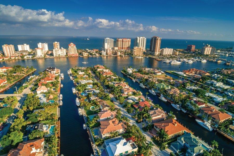 Les canaux de Fort Lauderdale. (© THEPALMER))