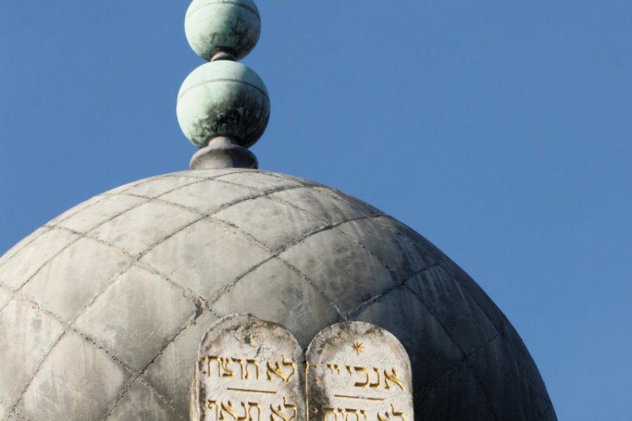 Détail de la synagogue de Besançon (© NLPhotos - Fotolia))