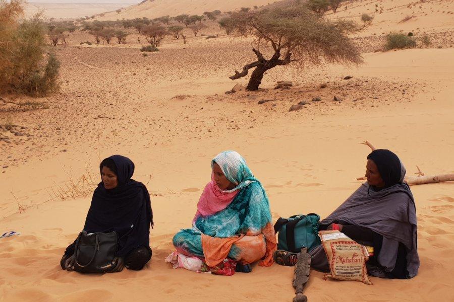 Femmes semi-nomades, qui vivent de la vente de bijoux. (© François JANNE DOTHEE))