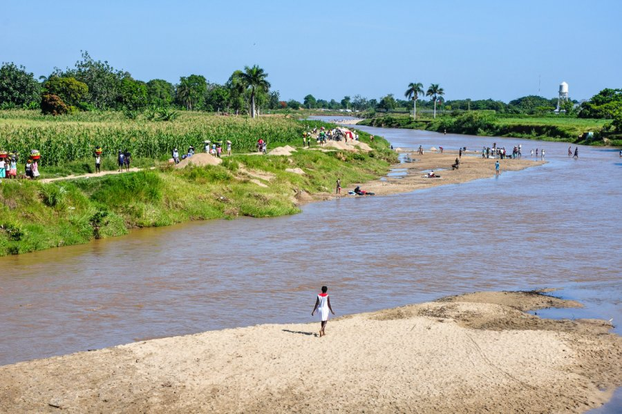 Dajabon, à la frontière d'Haïti. (© Sandra Foyt - Shutterstock.com))