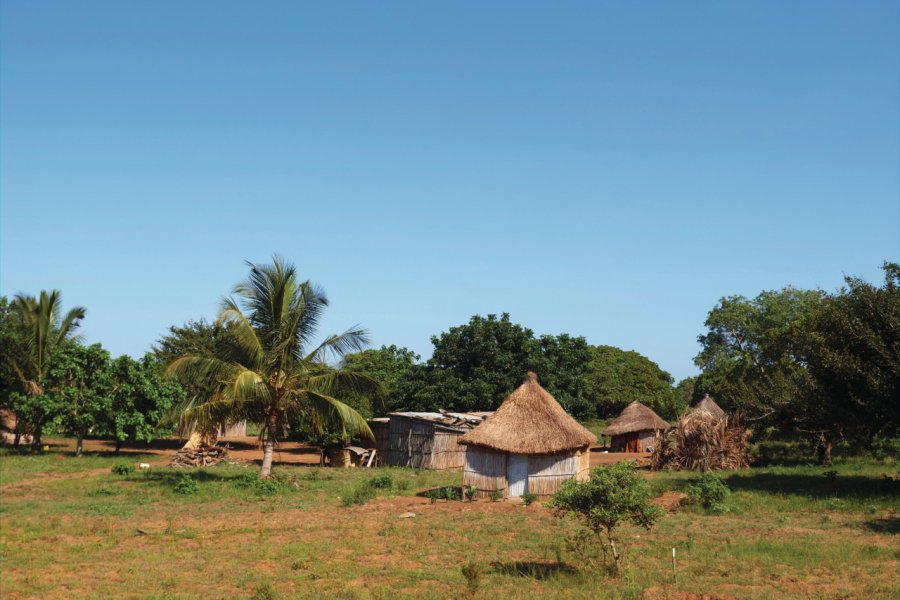 Huttes traditionnelles de Vilankulo. (© holgs - iStockphoto.com))