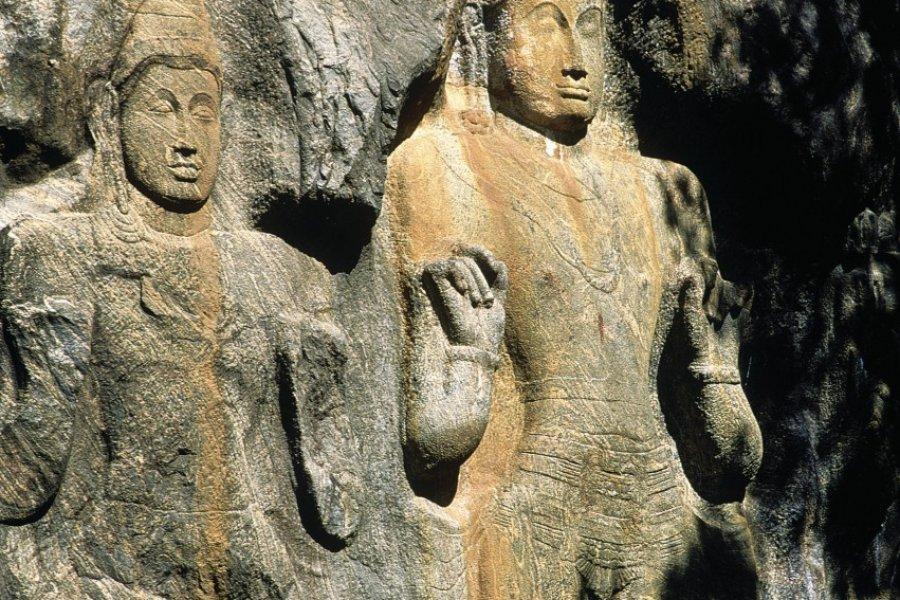 Site bouddhique de Buduruwagala (© Eric Martin - Iconotec))