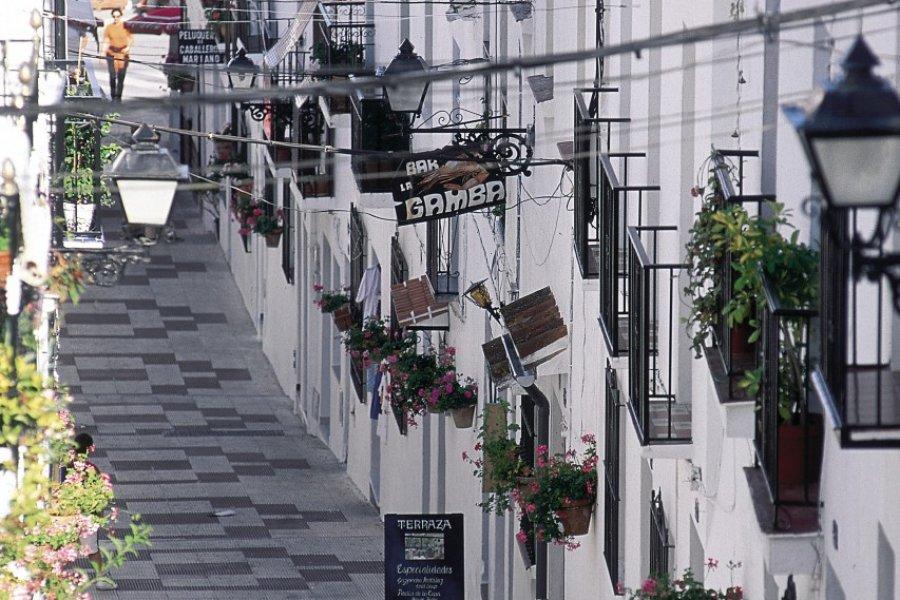 Maisons traditionnelles de Mijas. (© S.Nicolas - Iconotec))