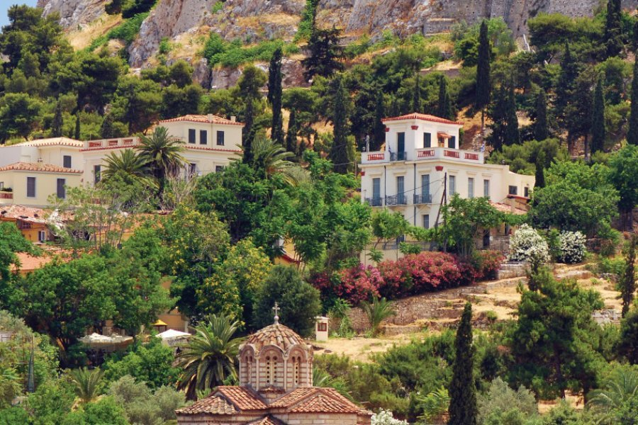 Vue sur l'Acropole. (© GrigoriosMoraitis))