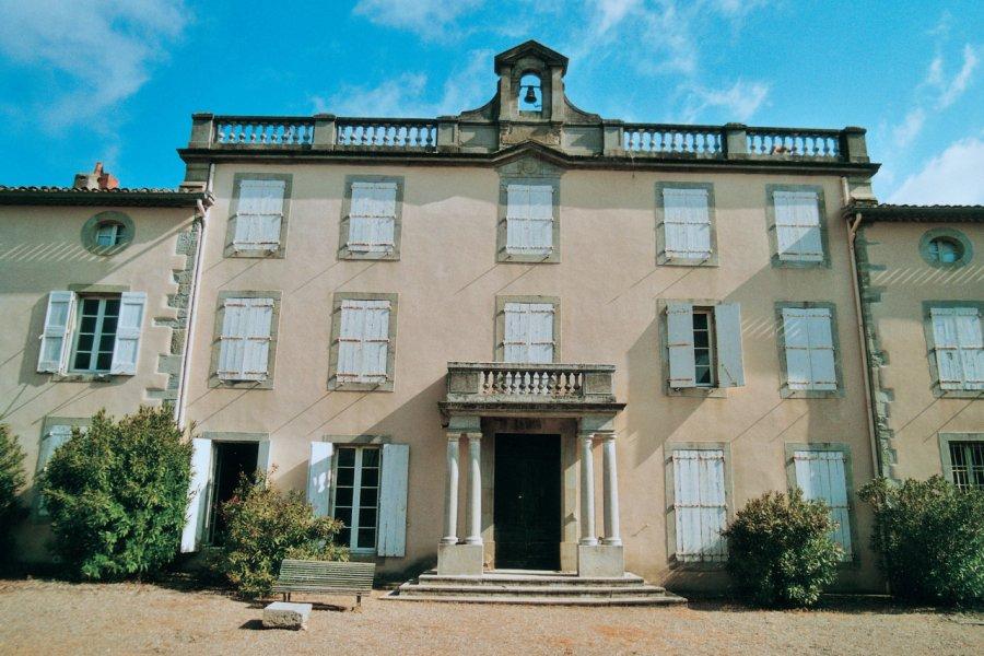 Château Auzias (façade sud). (© Dominique Auzias))
