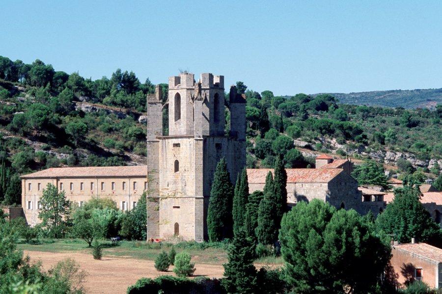 L'abbaye de Lagrasse (© IRÈNE ALASTRUEY - AUTHOR'S IMAGE))