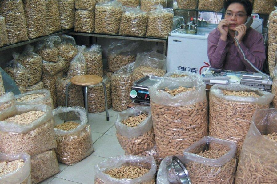 Marché alimentaire de Huangsha. (© Stéphan SZEREMETA))