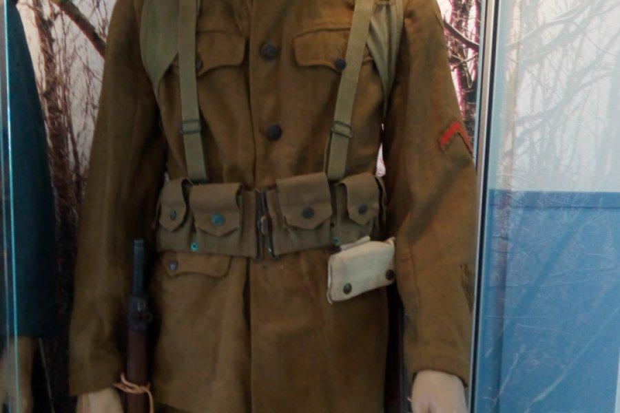 Soldat Marine 1918. (© MUSÉE DE LA MÉMOIRE DE BELLEAU 1914-1918))