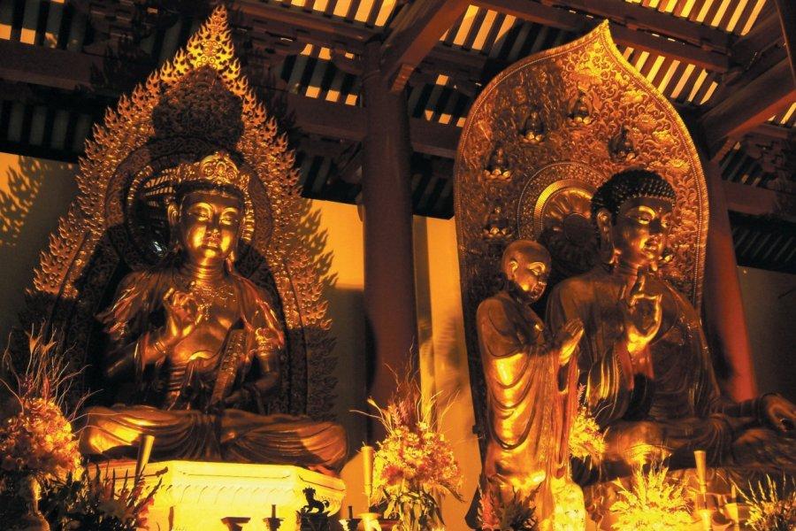 Temple de la brillante piété filiale à Guangxiao Si. (© Stéphan SZEREMETA))