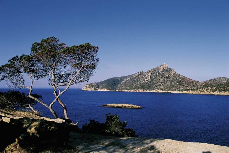 L'île de Sa Dragonera classée parc naturel. (© Hervé Bernard - Iconotec))