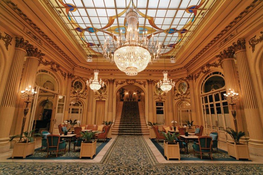 Le hall de l'hôtel Astoria. (© Author's Image))