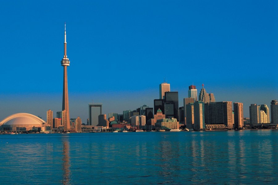 Centre-ville de Toronto et Tour CN. (© S.Nicolas - Iconotec))
