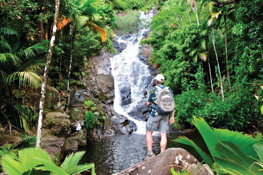 Les chutes de Port Glaud. (© Gerard Larose  - Office du tourisme des Seychelles))