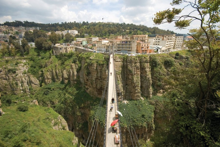 Un des six ponts de Constantine. (© Nour EL REFAI- iStockphoto))