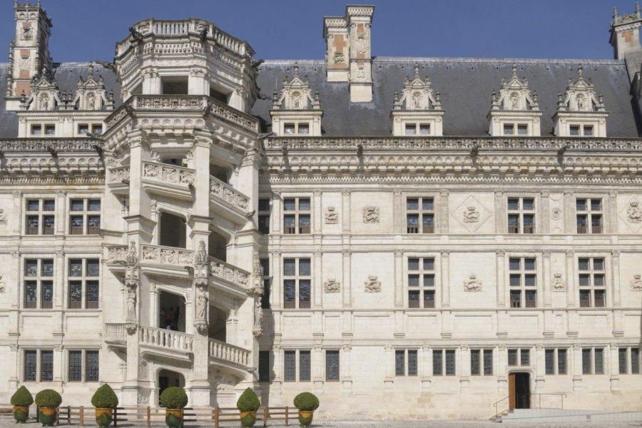 Facade intérieure du château de Blois (© Gilles Oster - Fotolia))