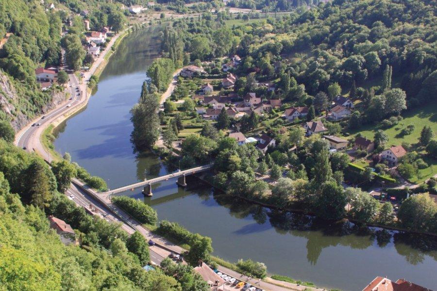 Le Doubs près de la citadelle de Besançon (© Marco Desscouleurs - Fotolia))