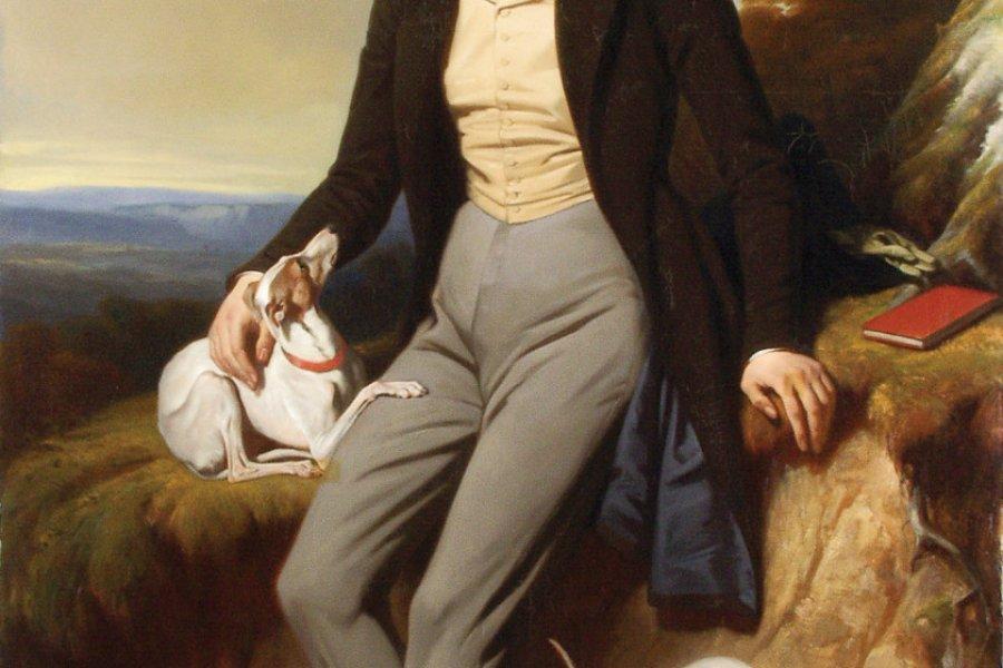 Portrait de Lamartine Henri Decaisne (Bruxelles, 1799 - Paris, 1852). (© Musées de Mâcon))