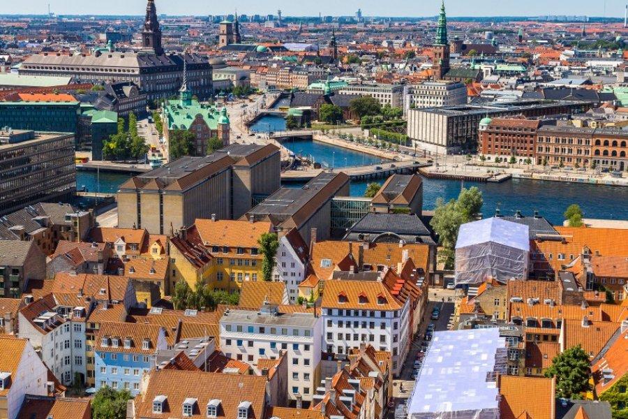 Survol de Copenhague. (© S-F - Shutterstock.com))