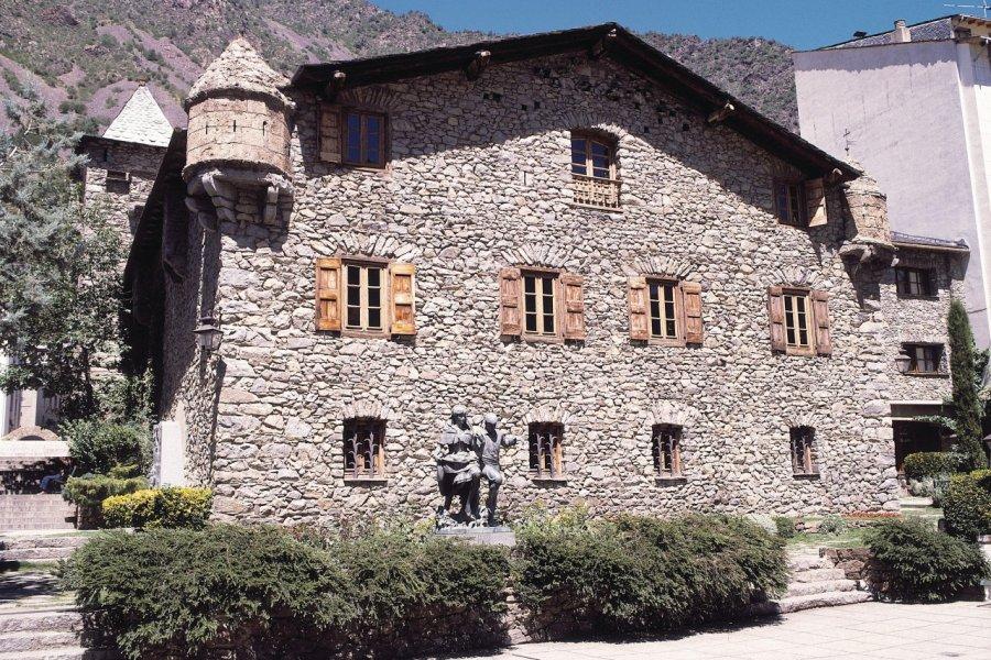 Maison des Vallées (Casa de la Vall), aujourd'hui siège du Conseil Général (© Ministère du Tourisme du Gouvernement d'Andorre))
