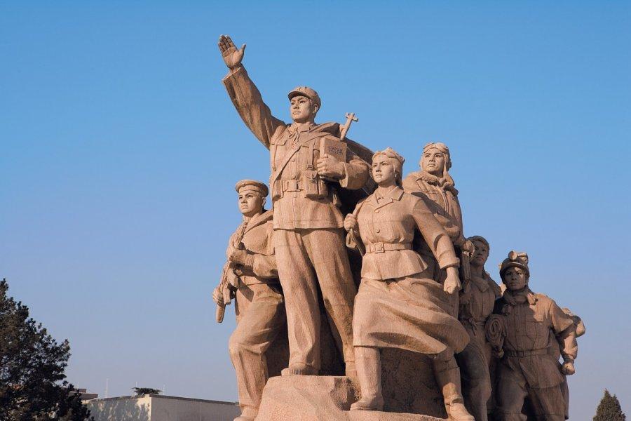 Place Tian An Men - Mausolée de Mao (© Author's Image))