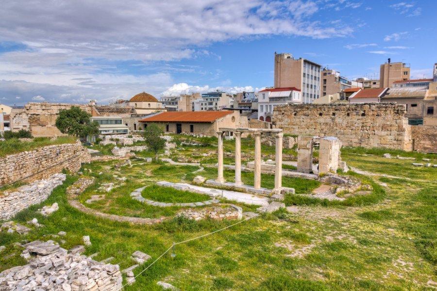 Ancienne Agora. (© Lefteris Papaulakis  - Shutterstock.com))