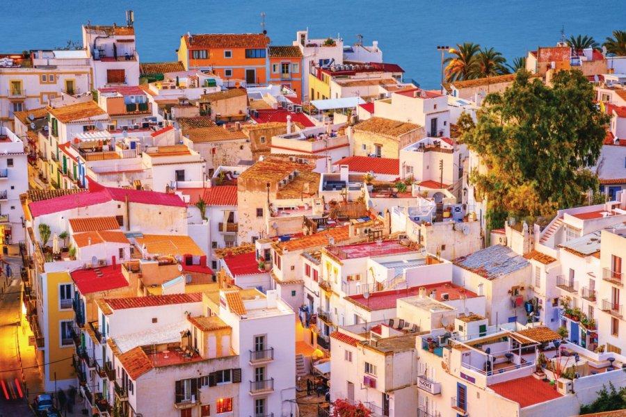 Ibiza et ses maisons atypiques. (© Juergen Sack))