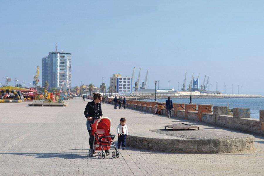 Port de Durrës. (© Céline CHAUDEAU))